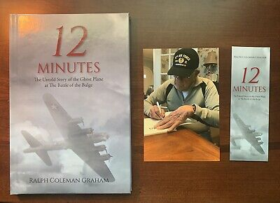 AU11.68 • Buy 12 Minutes Book On WWII Signed By Author B-17 Radio Operator Battle Of The Bulge