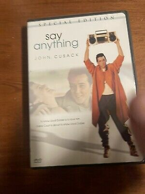 AU4.03 • Buy Say Anything (DVD, 2006, Special Edition Sensormatic Valentine Faceplate)