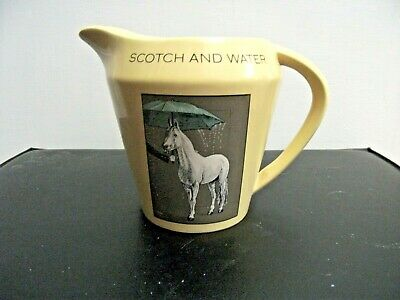 £10.50 • Buy Rare Vintage   White Horse Fine Old Scotch Whisky   Water Pub Jug  Made By Wade