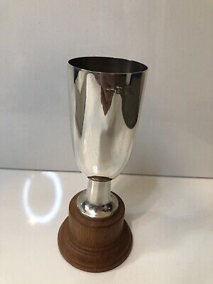 £15.80 • Buy Solid Silver Cup Trophy Goblet Hallmarked Not Engraved Boxed
