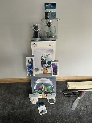 £200 • Buy Job Lot Biorb  Halo 30 MCR Led 30L White And Life MCR And Extras All New Rrp£400