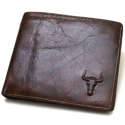 $ CDN21.25 • Buy Men's Leather Wallet Zippered Coin Pocket Purse Credit Card Holders Wallets