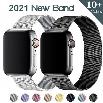 AU6.63 • Buy Milanese Loop Band Iwatch Strap For Apple Watch Series 6 5 4 3 2 1 38 42 40 44mm