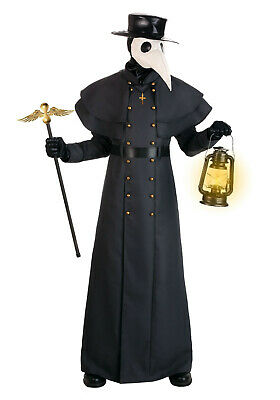 $ CDN304.50 • Buy New Men Black Classic Plague Doctor Costume Adults Worldwide Expedited Shipping
