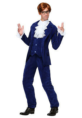 $ CDN365.40 • Buy New Deluxe Blue 60s Swinger Costume For Men With Worldwide Expedited Shipping
