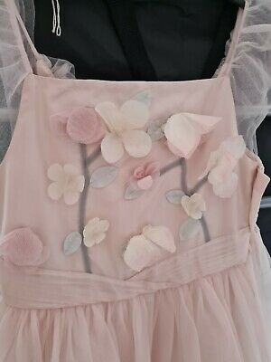 £2.70 • Buy Pink Monsoon Flower Girl/party Dress Age 9