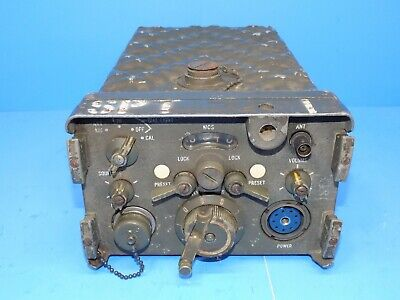 $69.50 • Buy VINTAGE MILITARY RT-70 / GRC RADIO RECEIVER TRANSMITTER With SCHEMATIC