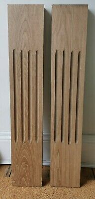 £44 • Buy Solid Oak Fireplace Surround Pilasters 180 X 44mm Thick 1m Tall