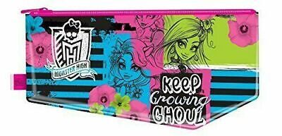 £1.77 • Buy Monster High Large Flat Pencil Zipped Case  NEW