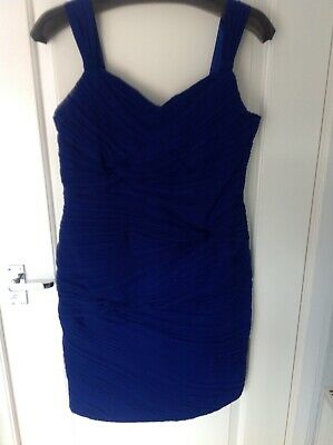 £3.50 • Buy Insparato Size 16 Coctail Dress Midnight Blue