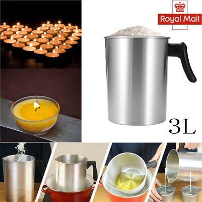 £9.39 • Buy Wax Melting Pot Candle Making Pouring Pot With Heat Resistant Handle Home DIY