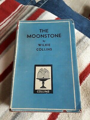 £2.25 • Buy The Moonstone By Wilkie Collins.  ( Collins Pocket Classics ) Hardback. 1950