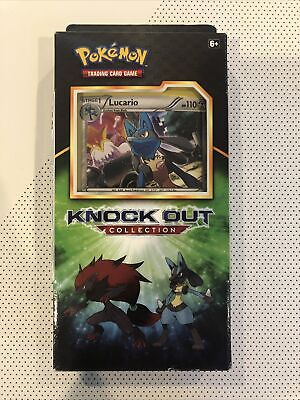 $20 • Buy Pokemon TCG Knock Out Collection Lucario Holo Sealed Booster Box Packs 2017