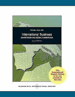 £3.31 • Buy International Business By Hill, Charles