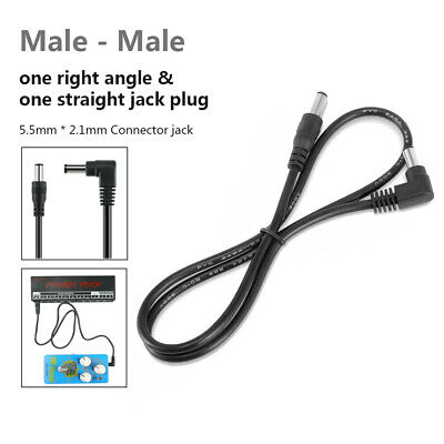 $ CDN7.54 • Buy DC Power Cable - Male To Male - Guitar Pedal Board Power Cord - 2.1mm ID Plug