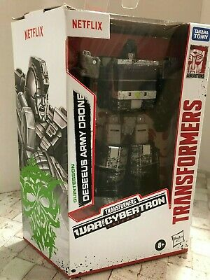 AU33.73 • Buy Transformers War For Cybertron Netflix Quintesson Deseeus Army Drone NEW-IN HAND