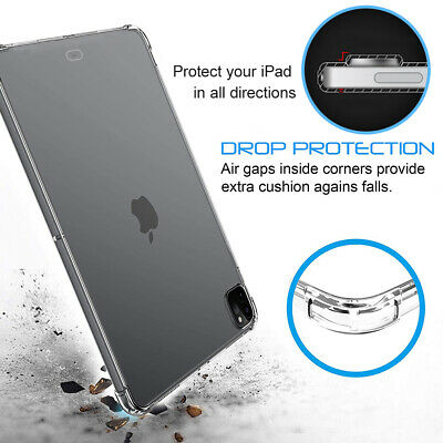 $15.99 • Buy Slim Case With Shock-Absorbing Flexible TPU Edges For IPad Pro 12.9  2021/2020