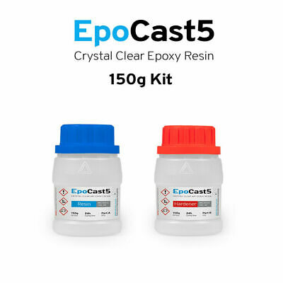 £5.99 • Buy EPOXY RESIN  CRYSTAL CLEAR 3D ART CASTING 150g  KIT FAST CURE CRAFTS & ARTS