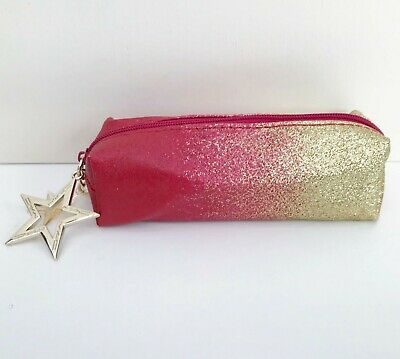 $15.41 • Buy MAC  Lucky Star  Makeup Cosmetic Bag, Travel Pouch / Brush Case, Brand NEW!
