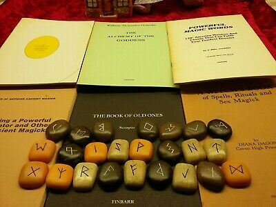 £19.99 • Buy Rare Collection Of 6 Finbarr Books / Booklets And 24 Runestones