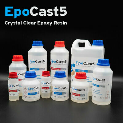 £6.99 • Buy Epoxy Resin Tester Kit 150g 250g 500g 1kg Crystal Clear Casting Slow & Fast Cure
