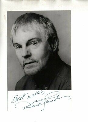 £7.50 • Buy Derek Jacobi  Dr Who, The Crown Etc  Signed 5x3 B/W Photo Autographed