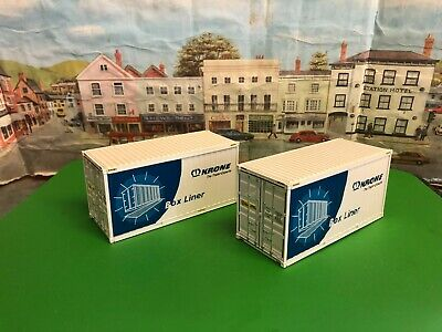 £15 • Buy 1:50 Scale Die Cast Container Load For Trucks ( KRONE The Trailer Experts )