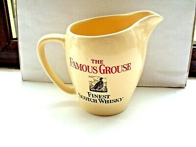 £3.99 • Buy Famous Grouse Scotch Whisky Water Jug Cream Made By Wade PDM In VGC