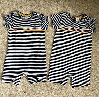 £8 • Buy 12-18 Months Jasper Conran Summer Rompers All In One Twin Boys Unisex