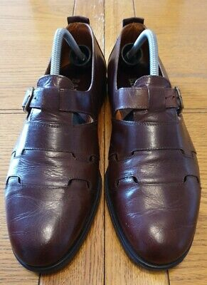 £40 • Buy Bally Mens Brown Leather Buckle Fastening Shoes - UK Size 9E EU 43 Standard Fit.