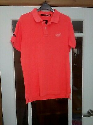 £10 • Buy Superdry , Super Boys Polo Shirt Size Medium, Chest 38  Fits Age 16