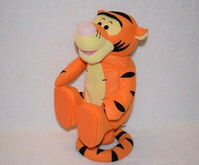 """£11.99 • Buy Disney Winnie The Pooh Tigger Talking Spinning Fisher Price Soft Toy 13"""" A36"""