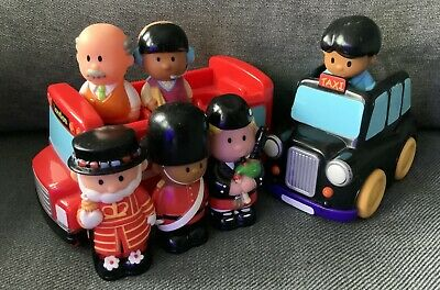 £10 • Buy ELC Happyland London Bus/Taxi & Figures USED
