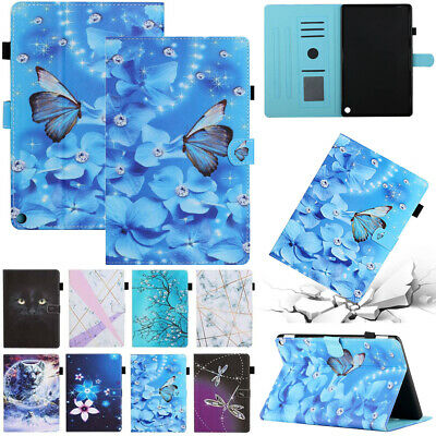 £9.98 • Buy For 10.1  Amazon Kindle Fire HD 10 Plus 11th Gen Smart Leather Stand Case Cover