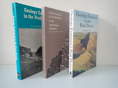 £4.99 • Buy Peak District, Geology 3 Book Themed Set, R Neves, F Wolverson Cope, Job Lot