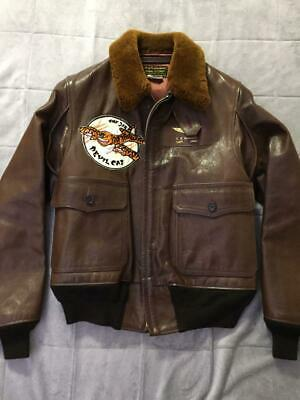 $1233 • Buy REAL McCOY'S Authentic M-422A Flight Jacket Devil Cat Size 38 Used From Japan