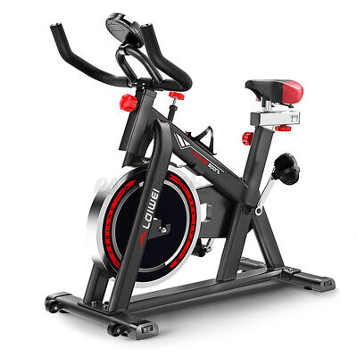 £119.59 • Buy 150KG Exercise Bike Indoor Cycling Spin Bike Bicycle Home Fitness Workout Cardio