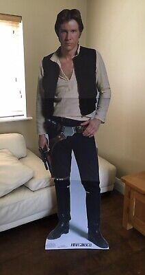£24.99 • Buy Harrison Ford Han Solo Star Wars LIFESIZE CARDBOARD CUTOUT  🌟POST OR COLLECT