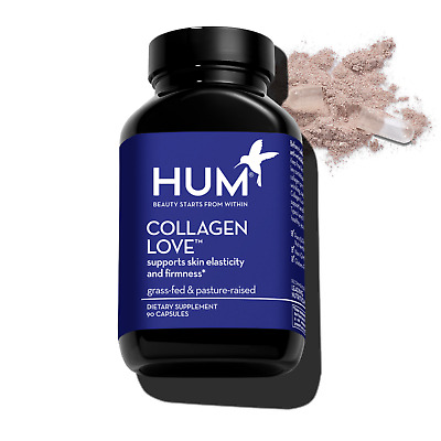 $14 • Buy HUM Collagen Love Supports Skin Elasticity + Firmness - 90 Capsules - FREE SHIP