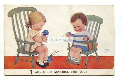 $2.75 • Buy Mabel Lucie Attwell Postcard No. 2188 -  I Would Do Anything For You!  - 1930's