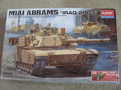 $60 • Buy Academy 1/35 Scale Remote Control US Army MBT M1A1 Abrams  Iraq 2003  Tank Kit