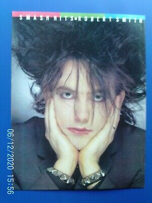 £4.99 • Buy THE CURE- ROBERT SMITH 1984 - A4 POSTER ADVERT 1980s Original