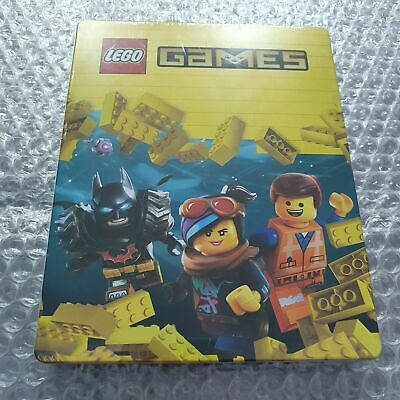 AU33.39 • Buy Lego Games - Limited Edition Steelbook - Very Rare - G2 - PS4 - No Game