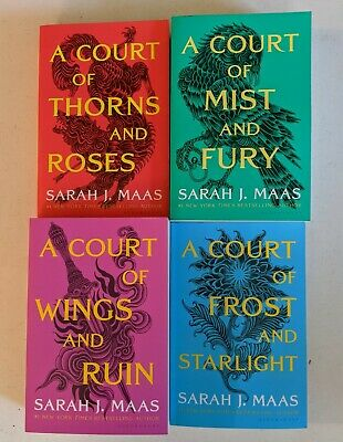 $45 • Buy A Court Of Thorns And Roses Book Set By Sarah J. Maas Paperback