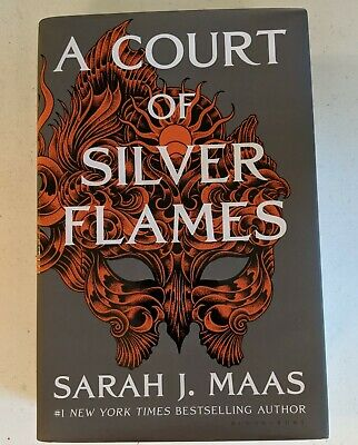 $15 • Buy NEW HCDJ Book A Court Of Silver Flames By Sarah J. Maas