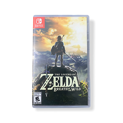 AU65.48 • Buy The Legend Of Zelda: Breath Of The Wild - Nintendo Switch Preowned