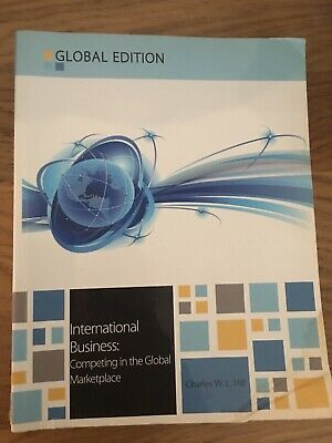£4.99 • Buy International Business By Charles W. L. Hill (Paperback, 2012)