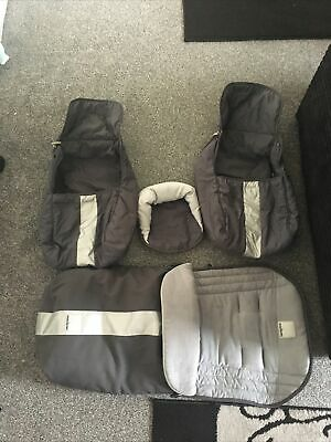 £29.90 • Buy Maclaren Techno Xt Footmuff Accessories 4 Pieces In Grey Colour Amazing Cond.