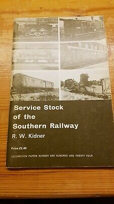 £9.95 • Buy Service Stock Of The Southern Railway By R W Kidner 1980 Oakwood Press