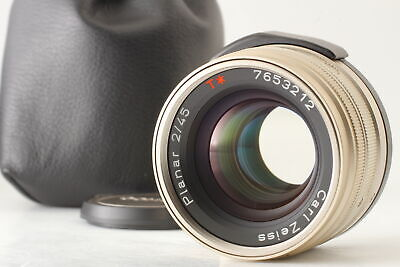 $ CDN547.81 • Buy 【MINT】 Contax Carl Zeiss Planar 45mm F/2 T * Lens AF For G1 G2 From JAPAN